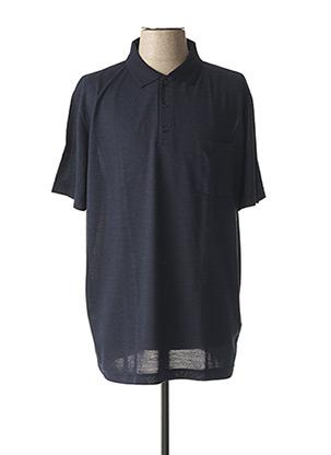 Polo manches courtes bleu COFOX pour homme