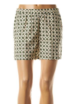 Short vert HARTFORD pour femme