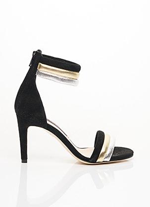 Sandales/Nu pieds noir PARALLELE pour femme
