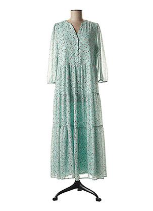 Robe longue bleu ESPRIT pour femme