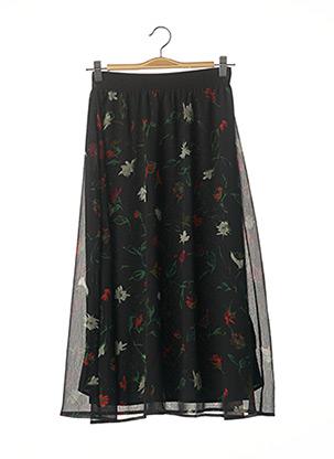Jupe mi-longue noir ESPRIT pour femme
