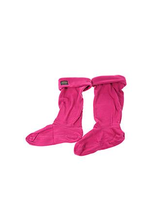 Chaussettes rose JOULES pour femme