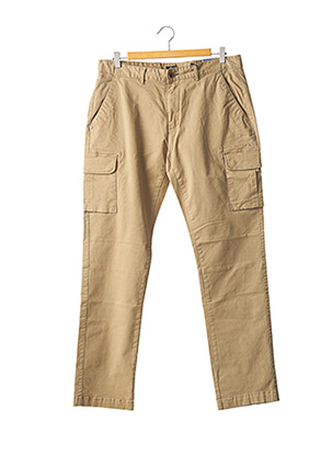 Pantalon casual beige NEW ZEALAND AUCKLAND pour homme