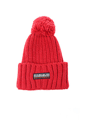 Bonnet rouge NAPAPIJRI pour unisexe