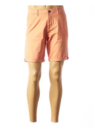 Short orange JACK & JONES pour homme