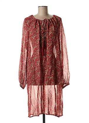 Robe courte rouge CREAM pour femme