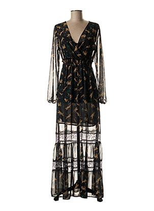 Robe longue noir LIU JO pour femme