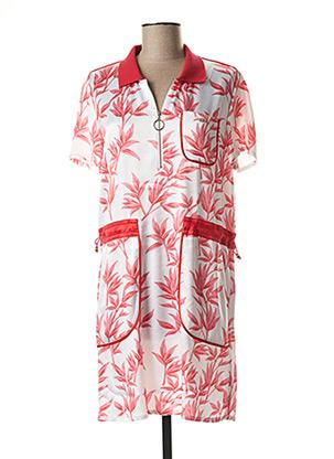 Robe mi-longue rouge LIU JO pour femme