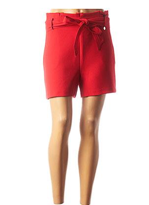 Short rouge MORGAN pour femme