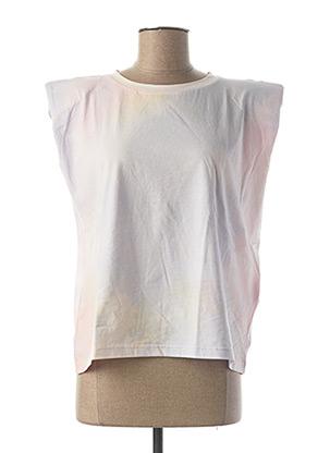 T-shirt manches courtes violet ONLY pour femme