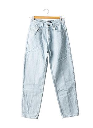 Jeans coupe droite bleu NASTY GAL pour femme