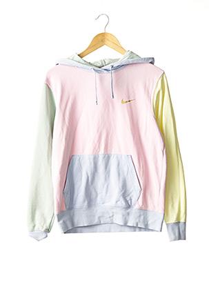 Sweat-shirt rose NIKE pour femme