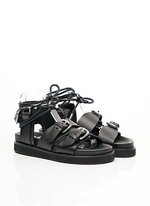 Sandales/Nu pieds noir THE KOOPLES pour femme