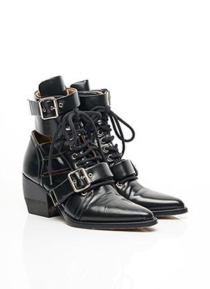 Bottines/Boots noir CHLOE pour femme