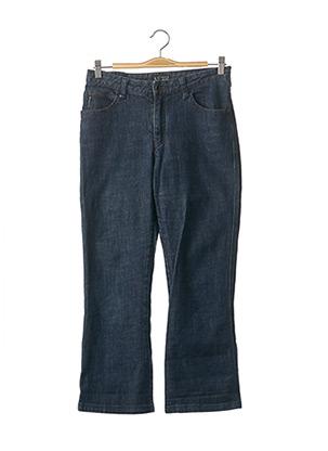 Jeans coupe droite bleu ARMANI pour femme