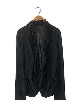 Veste chic / Blazer noir MARITHE & FRANCOIS GIRBAUD pour femme