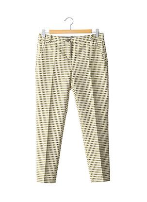 Pantalon casual jaune PINKO pour femme