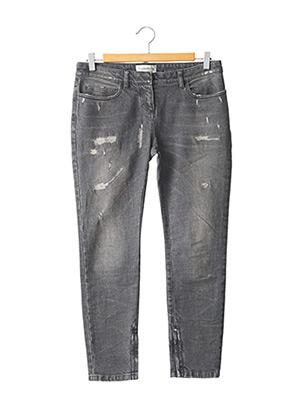 Jeans coupe slim gris FAITH CONNEXIONS pour femme