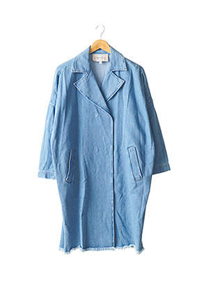 Manteau long bleu PAUL & JOE SISTER pour femme