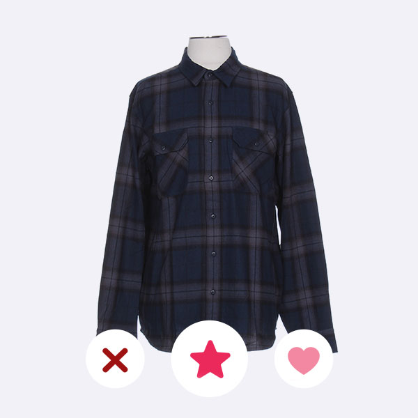 chemise a carreaux