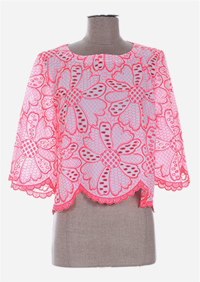 top rose broderie anglaise